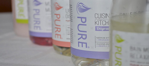 Produits nettoyants Pure