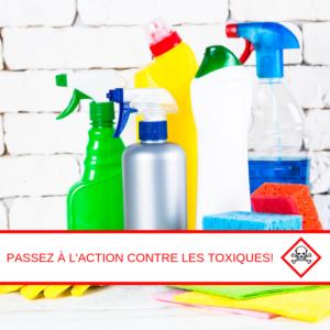 Conférence – Passez à l'action contre les toxiques! @ Maison culturelle et communautaire de Montréal-Nord