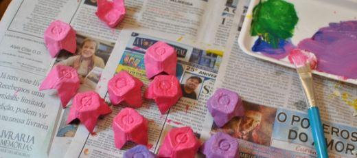 Écobricolage : des fleurs pour la fête des mères!